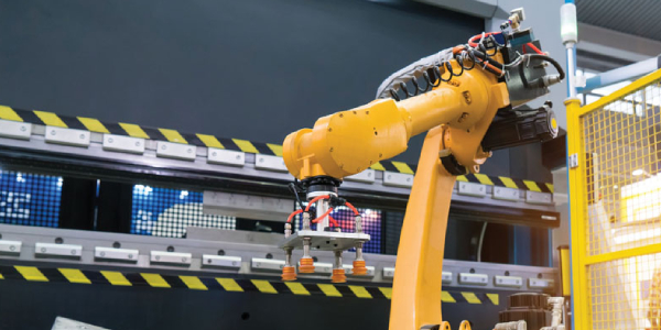 Robots and Steel Flanges-Its Uses